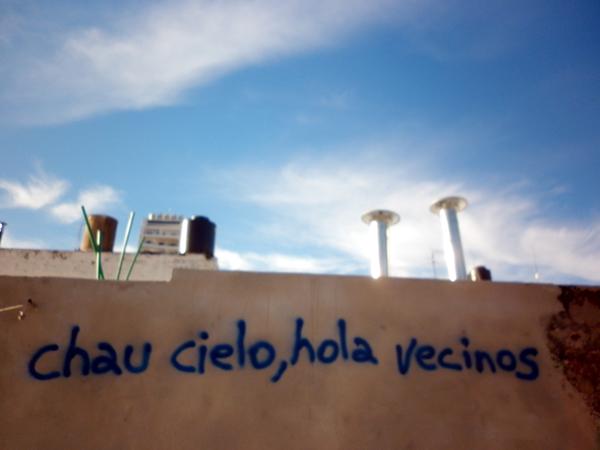 chau cielo, hola vecinos - Pasco 1550, ROsario