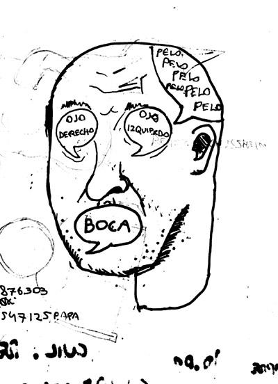 Ilustración de Guillermo Meza para Lengua extranjera