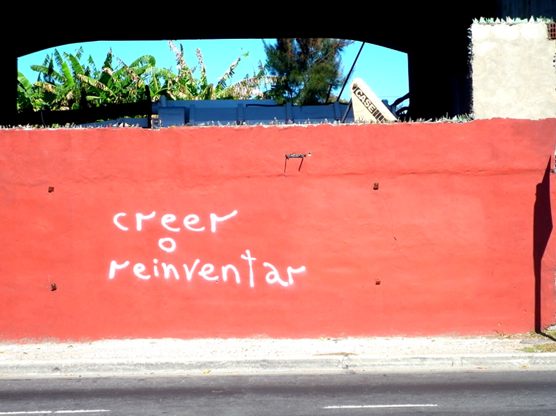 creer o reinventar (por Fernando Aíta)