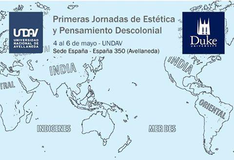 UNDAV jornadas pensamiento descolonial