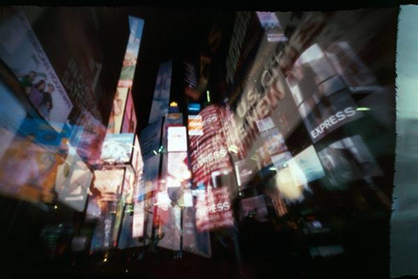 Times Square estenopeica pinhole