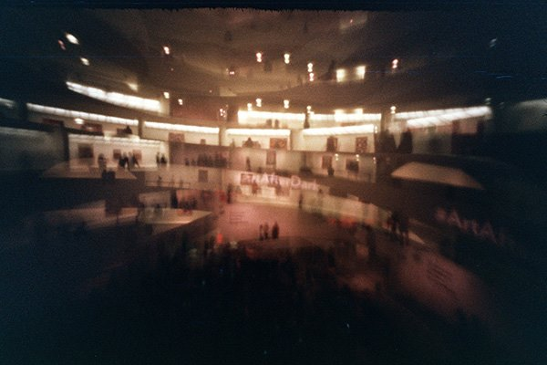 Guggenheim ArtAfterDark estenopeica pinhole