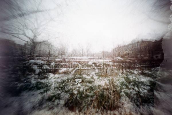 Queens estenopeica pinhole nieve snow