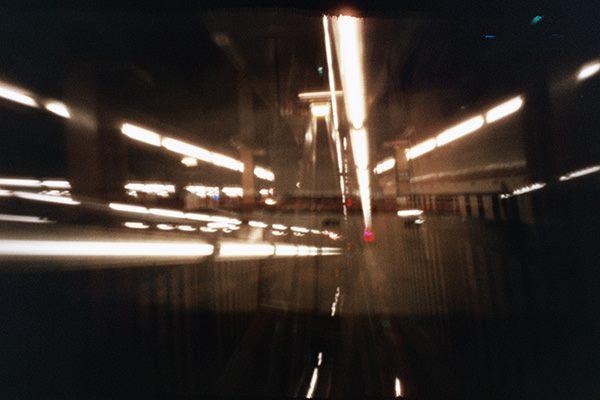 Subway NYC Metro estenopeica pinhole